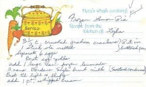 Frozen Lemon Pie 1
