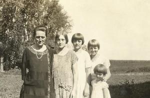 Gma Johnson, Goldie, Lajla, Ardis, MJ