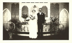 Grandma and Grandpa J wedding