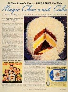 choc-o-nut cake