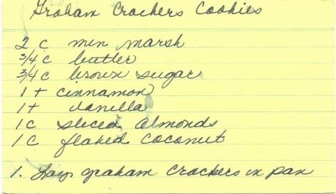 Graham Crackers Cookies