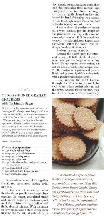 Old-fashioned Graham Crackers