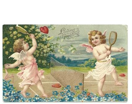 cupid postcard