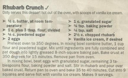 Rhubarb Crunch 2