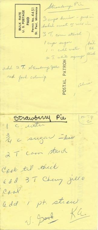 Strawberry Pie #3