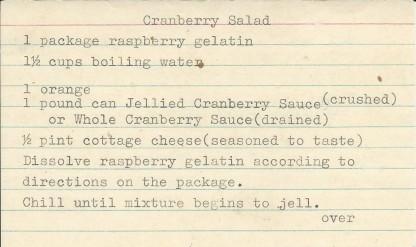cranberry-salad